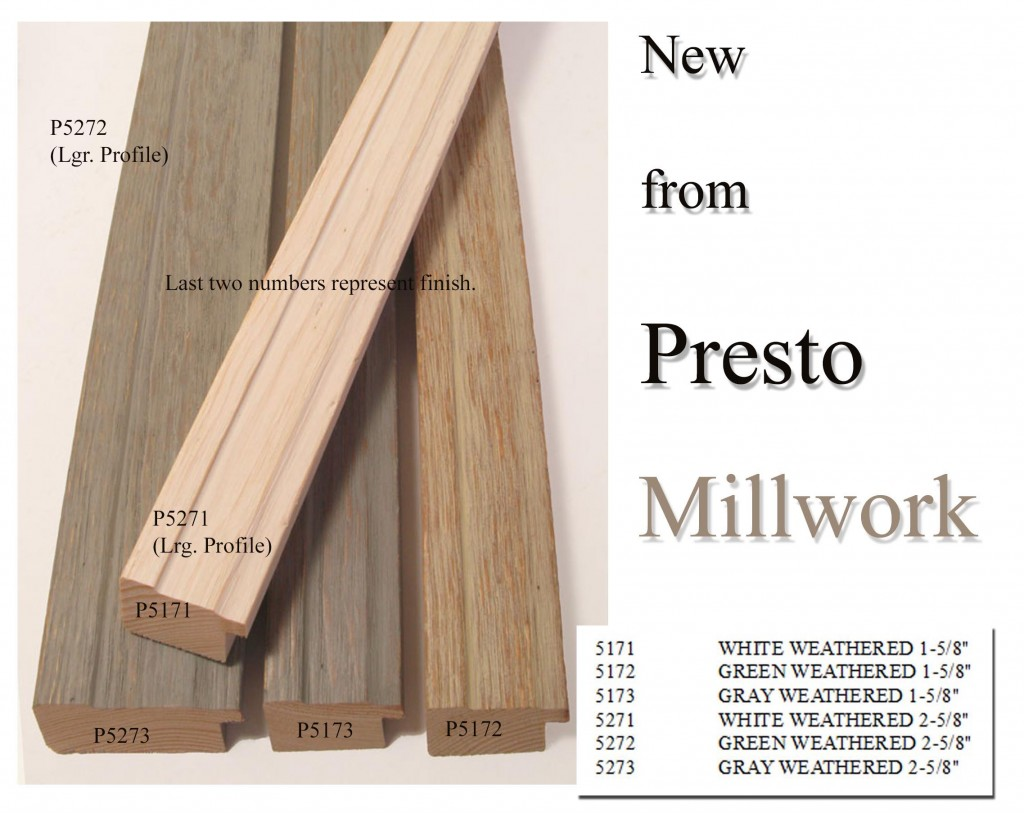 Millwork New Products