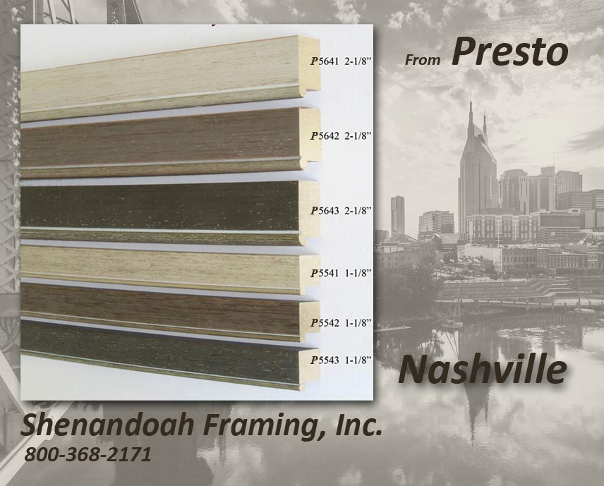 New Products – Presto – Nashville – Shenandoah Framing ...